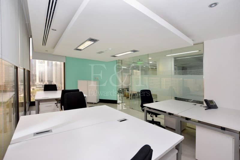 10  Move in Sea View Office Hamdan Services included 
