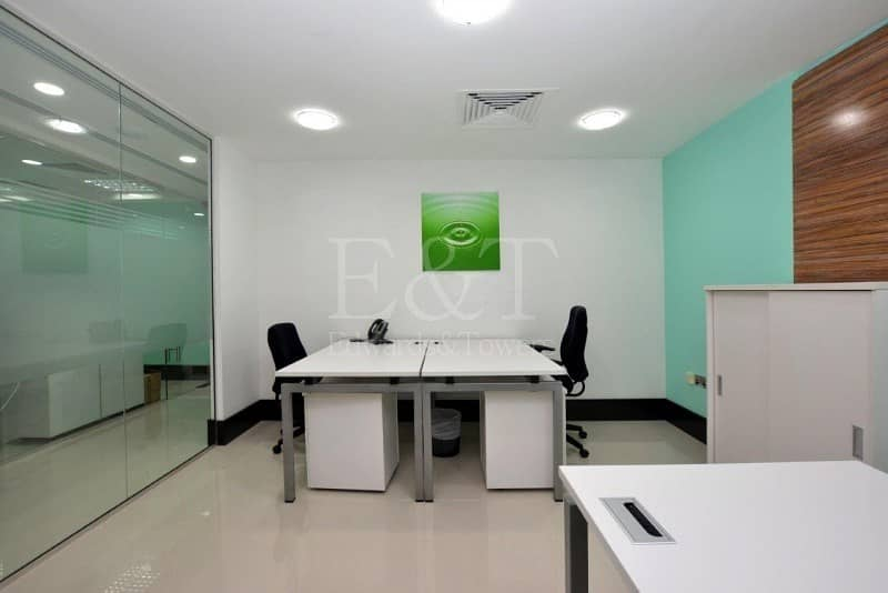 13 |Move in Sea View Office Hamdan Services included|