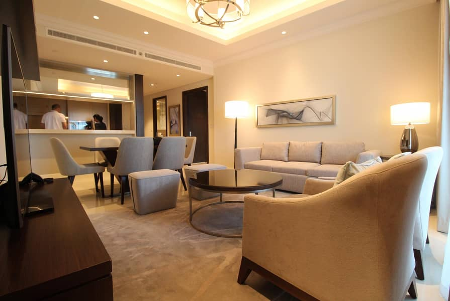 2 High Floor | Burj and Fountain View | Mid Unit