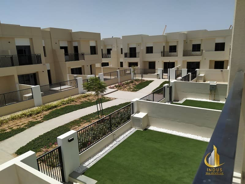 2 Open For Viewing | On Green Belt Type 10 3BR+M+S  Safi Townhouse|Opp Pool & Park