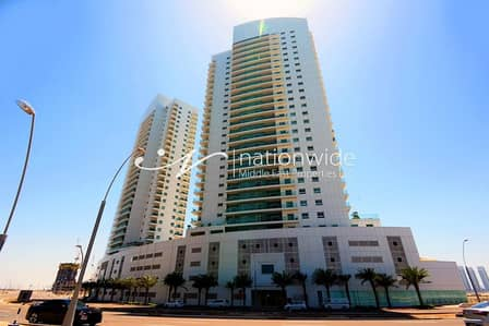 2 Bedroom Apartment for Sale in Al Reem Island, Abu Dhabi - Dazzling 2 BR +1 Apartment In Amaya Towers