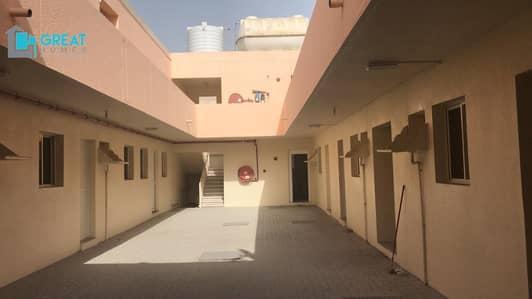سكن عمال  للايجار في السجع، الشارقة - Well  Maintained Labor Accommodation  Available For Rent In Saja