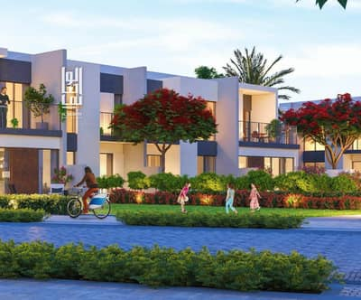 3 Bedroom Townhouse for Sale in Tilal Al Ghaf, Dubai - Luxury Townhouse! 5% Booking w/ 50% DLD Waiver  % 6 yrs Payment plan.