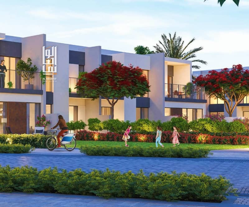 2 Luxury Townhouse! 5% Booking w/ 50% DLD Waiver  % 6 yrs Payment plan.