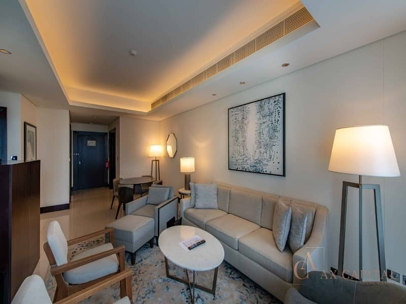 2 07 Series I 1 Bedroom + Study I Burj Khalifa View