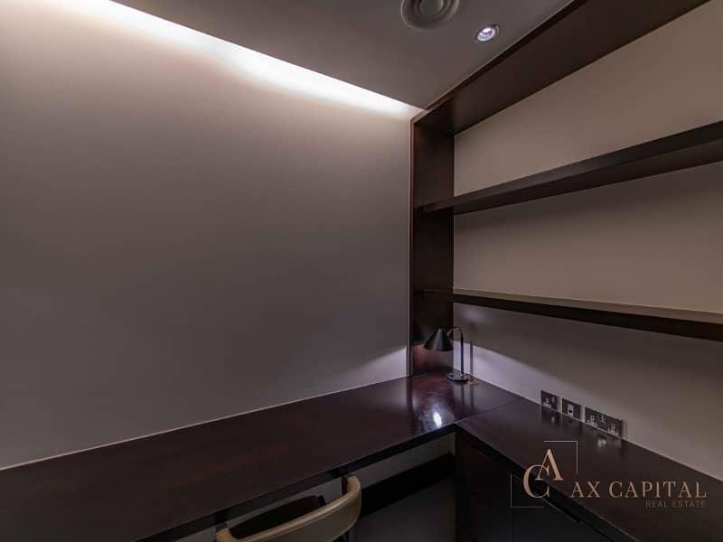 13 07 Series I 1 Bedroom + Study I Burj Khalifa View