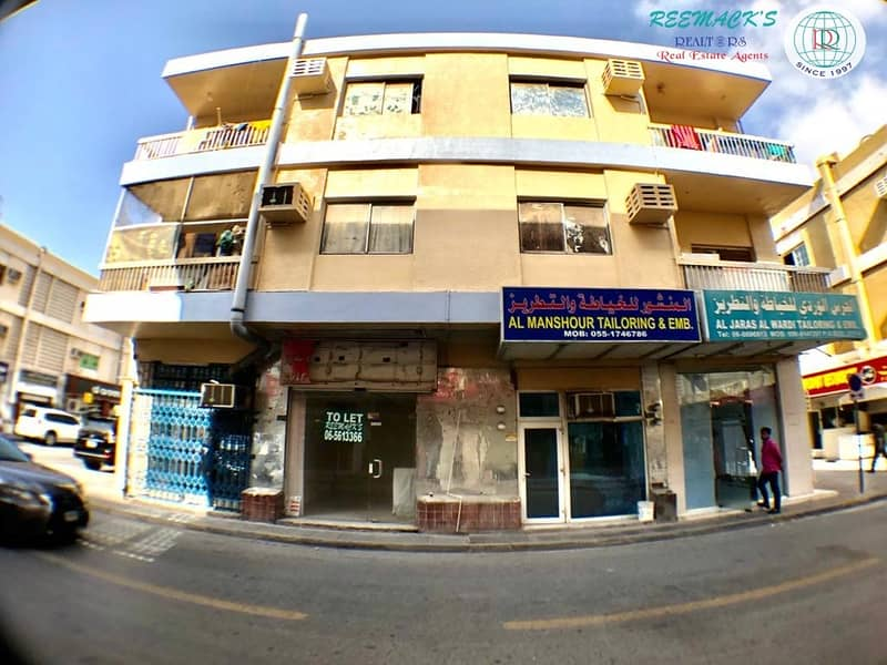 DIFFERENT SIZE SHOPS IN AL MAREEJAH AREA