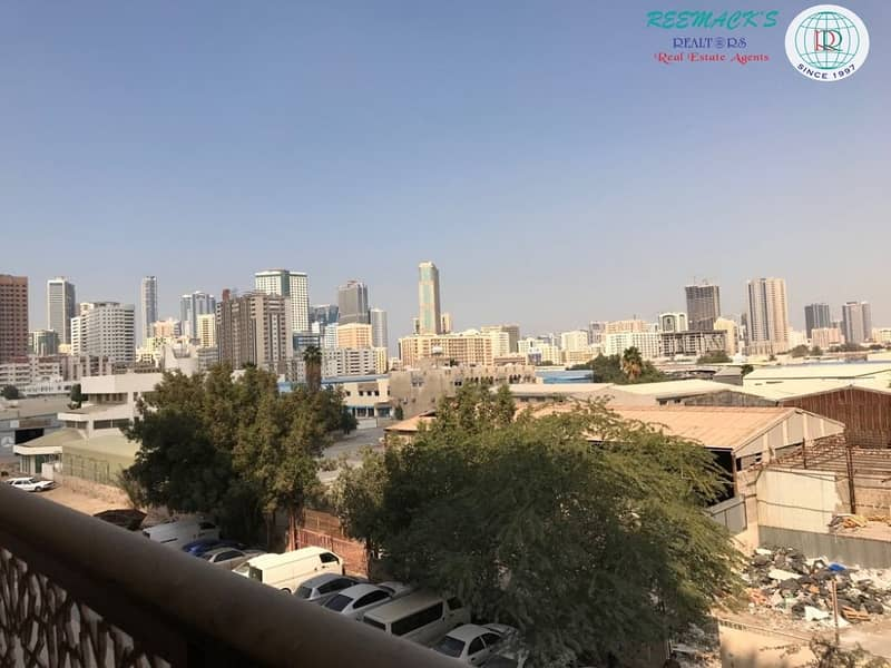 17 Brand New 1 B/R Hall Flat  with split Ducted A/C  In New Al Nahda only few units available