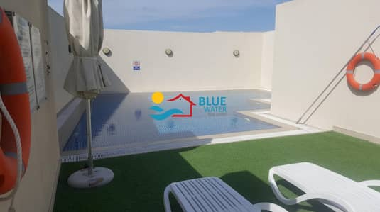 فلیٹ 2 غرفة نوم للايجار في الروضة، أبوظبي - Stylish 2 BR With Facilities In Rowdhat