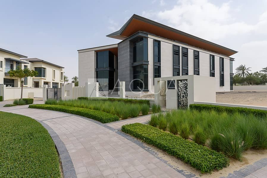 Shell and Core Villa on Dubai's Number 1 Street