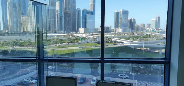 Office for Sale in Jumeirah Lake Towers (JLT), Dubai - Office for sale with fantastic Golf View