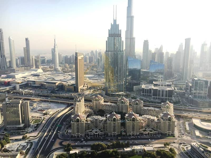 2 Full Burj Khalifa View! High Floor | Furnished 2BR