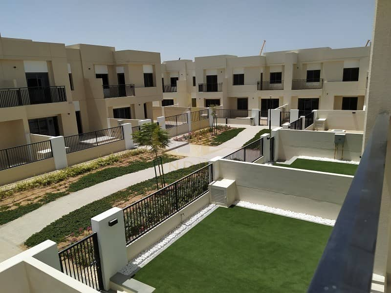 Open For Viewing | On Green Belt Type 10 3BR+M+S  Safi Townhouse|Opp Pool & Park