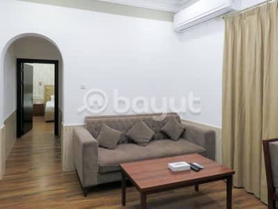 1 Bedroom Flat for Rent in King Faisal Street, Umm Al Quwain - Villa 1BHK For Rent In New Resort