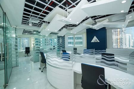 Office for Sale in Business Bay, Dubai - Luxury Fitted Office | Tenanted | 9.7% ROI