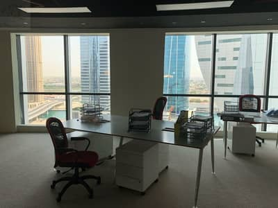 Fully Furnished Office Space|4 Parking| Available in Regal Tower