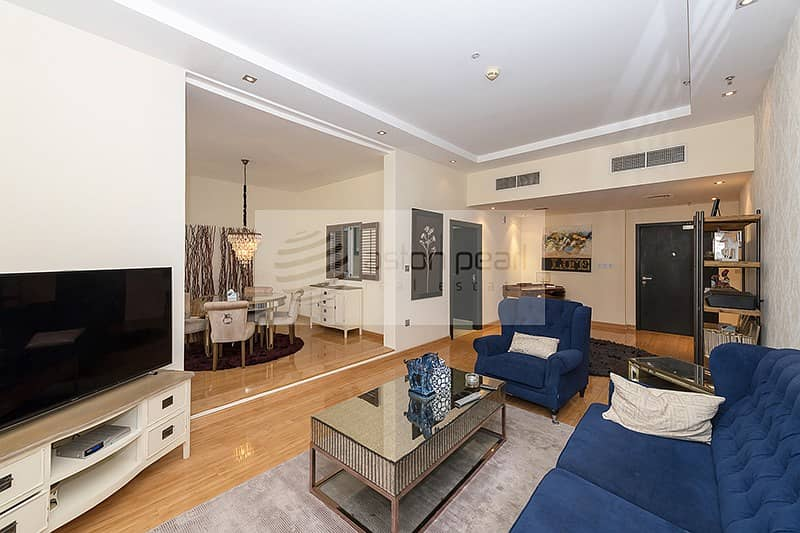 Furnished | AC Included | Flexible Chqs.