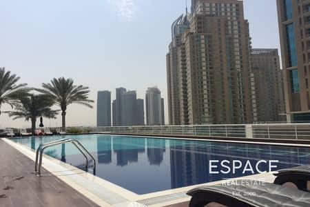 فلیٹ 1 غرفة نوم للايجار في دبي مارينا، دبي - Chiller Free | Available | Keys with Me