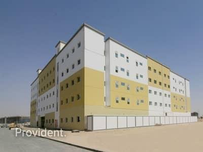 سكن عمال  للبيع في جبل علي، دبي - Brand New G+4 Labor Camp   12% Expected Yield