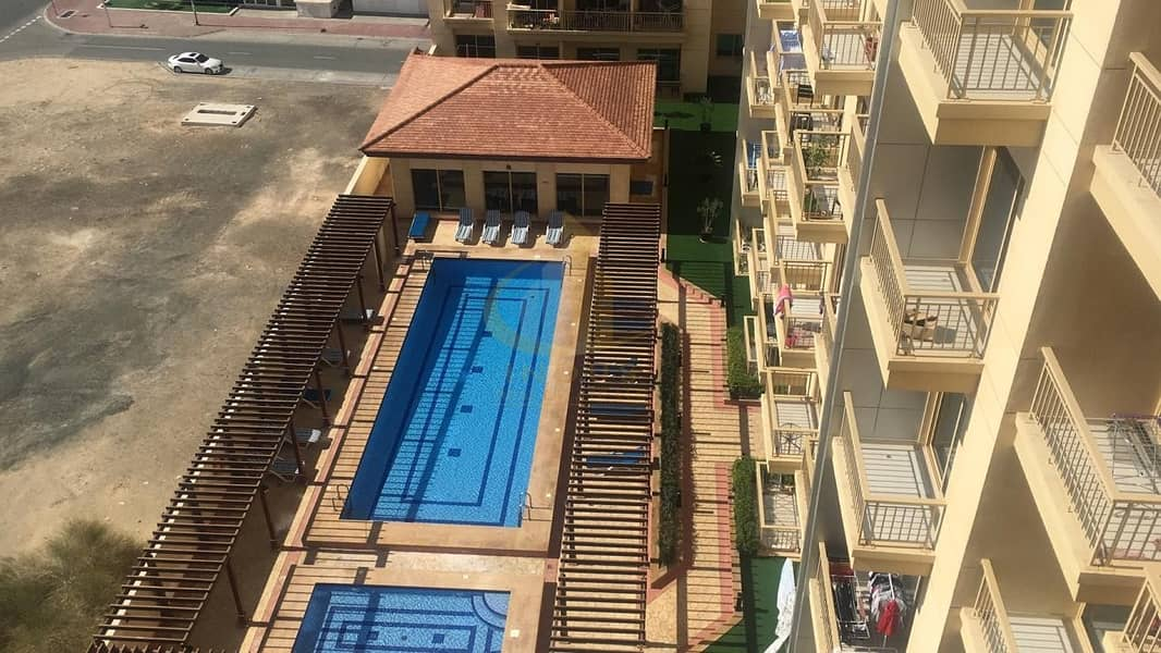 8 Spacious | Well Maintained | 1BR | Pool View