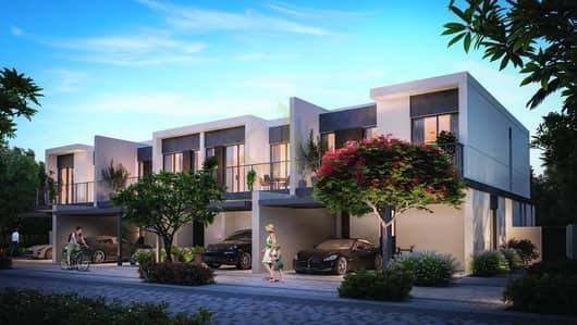 3 Bedroom Townhouse for Sale in Tilal Al Ghaf, Dubai - ELAN Townhouses Tilal Al Ghaf Resort-Like Living around Lagoons