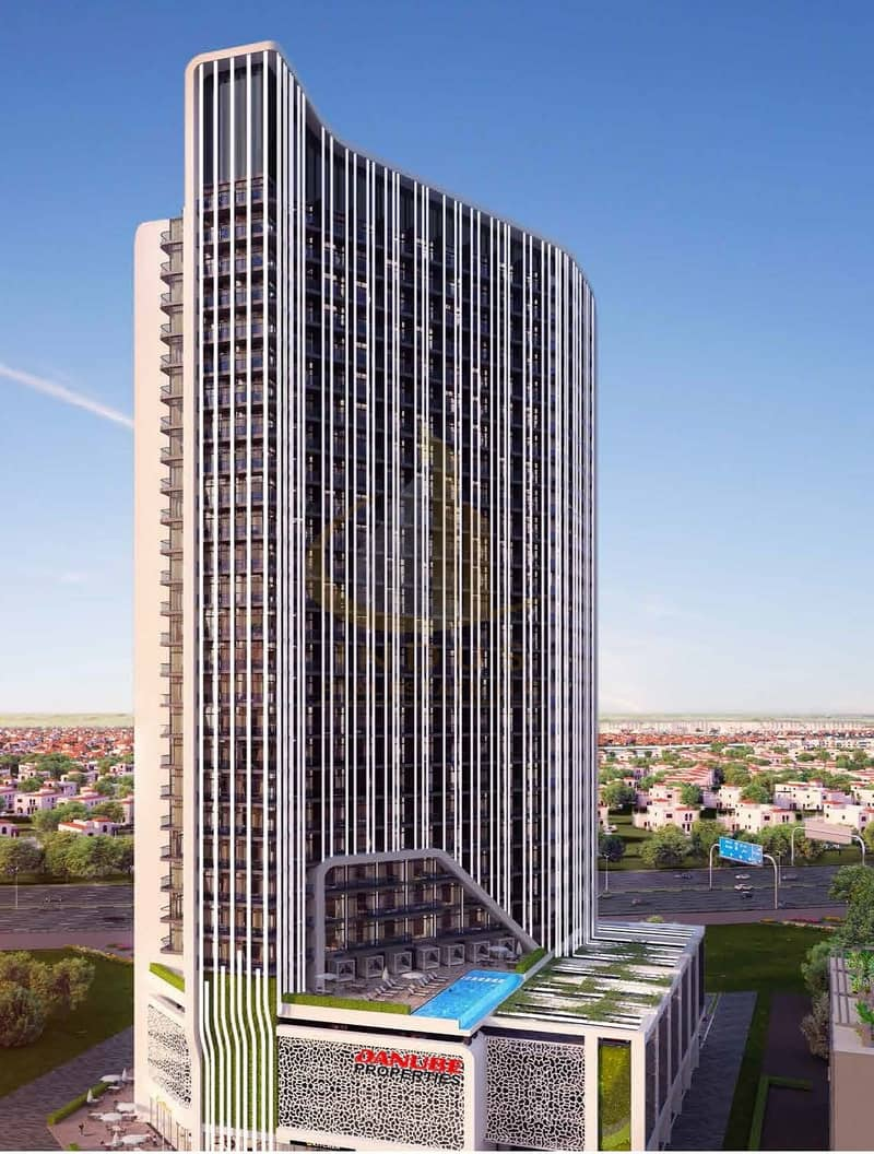 Fully furnished | 1% Per month | Bayz by Danube
