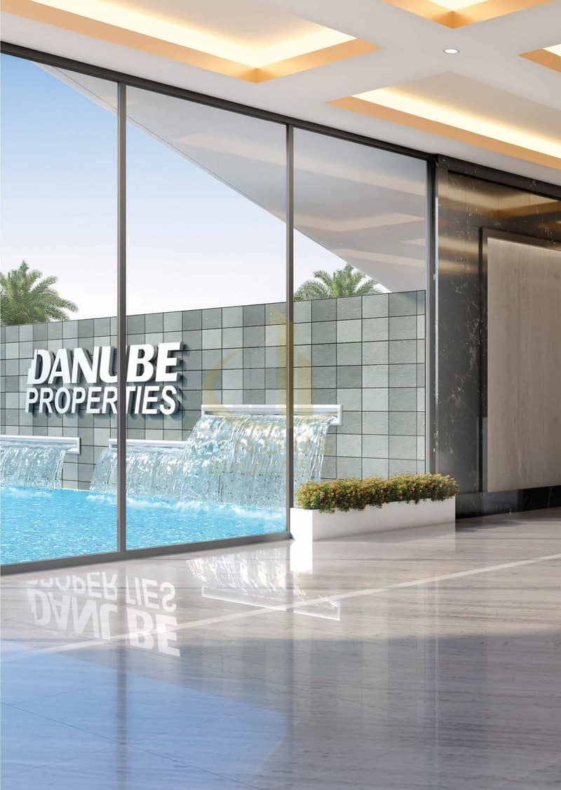 2 Fully furnished | 1% Per month | Bayz by Danube