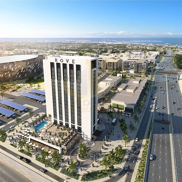 Direct access from Sheikh Zayed road | Rove City Walk