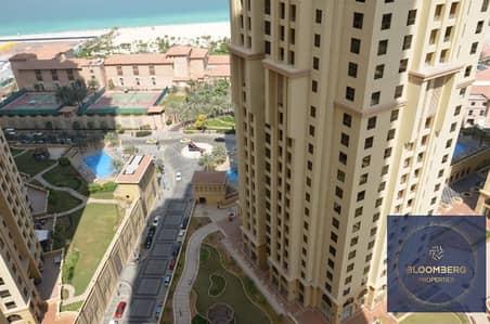 فلیٹ 1 غرفة نوم للبيع في جميرا بيتش ريزيدنس، دبي - Sea view | Elegant & Upgraded | JBR