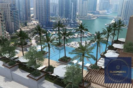 2 Bedroom Apartment for Rent in Dubai Marina, Dubai - Furnished | Pool view | Bright and Spacious