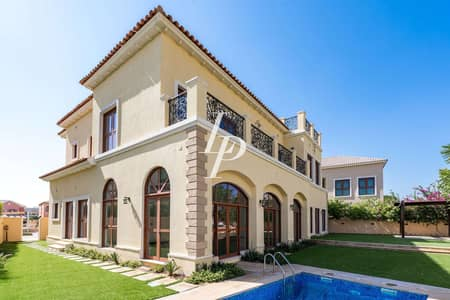 6 Bedroom Villa for Sale in Jumeirah Golf Estate, Dubai - Contemporary Villa|Huge Plot|Best Deal