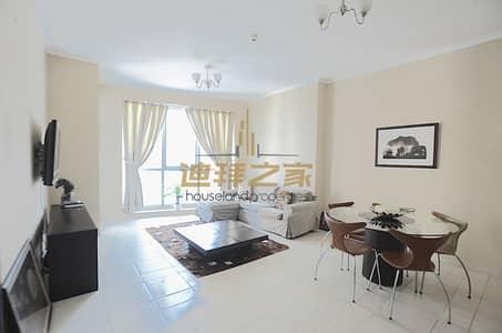 1 Bedroom Flat for Rent in Dubai Marina, Dubai - High Floor