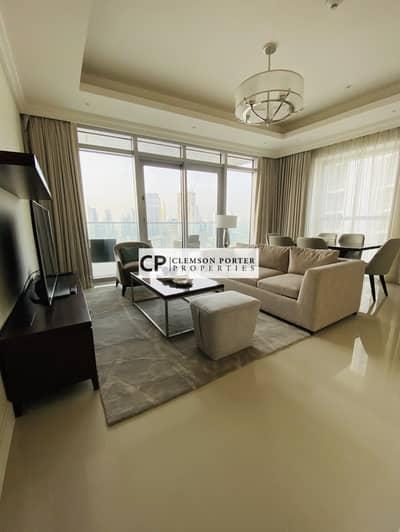 شقة فندقية 2 غرفة نوم للبيع في وسط مدينة دبي، دبي - Brand  New| Burj Khalifa View| Fountain View