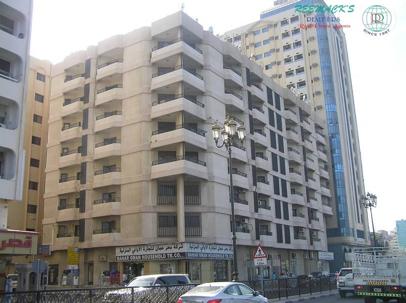2 Spacious 2 B/R Hall flat with Split ducted A/C & sea view in Corniche Are