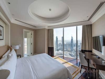 شقة 4 غرف نوم للبيع في وسط مدينة دبي، دبي - Corner Unit I Large 4 Bedroom + Maids I Downtown