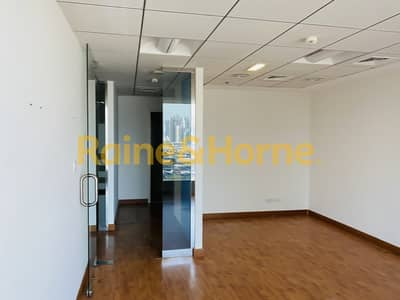Office for Rent in Jumeirah Lake Towers (JLT), Dubai - Elegant | 4 Full Glass Partitions | 2 Min to Metro