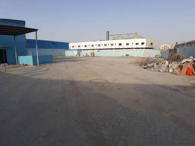 ارض صناعية  للايجار في المدينة الصناعية الجديدة، عجمان - فتح الأرض مع 3 المرحلة الكهرباء المتاحة للإيجار في عجمان . .