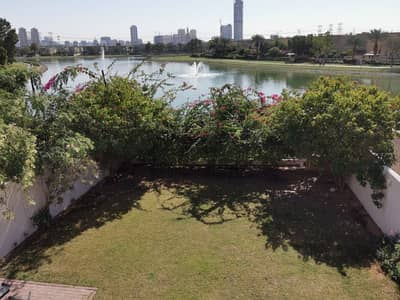 3 Bedroom Townhouse for Rent in The Springs, Dubai - Full Lake View Private Garden Type 3E  3 Bed study