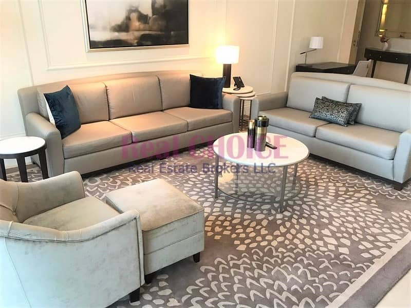2 BR Serviced Hotel Apartment|Fully Furnished