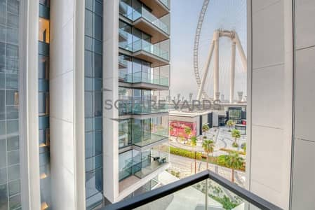 2 Bedroom Flat for Rent in Bluewaters Island, Dubai - 2BR | Maid | Fully Furnished | Ain Dubai View