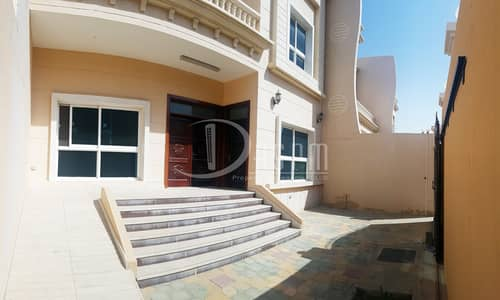 6 Bedroom Villa for Rent in Khalifa City A, Abu Dhabi - 3 Payments 6 beds villa with seperated Entrance 135k!