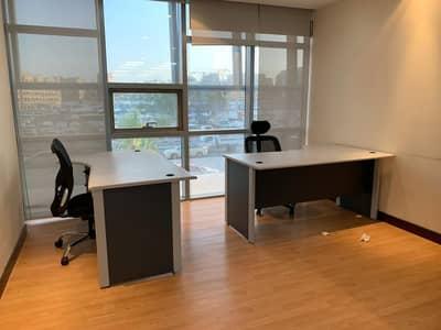 Office for Rent in Deira, Dubai - Flexi Desk/Estedama For Trade License Renewal For AED8,500 W/ 50 Sqft Deskspace