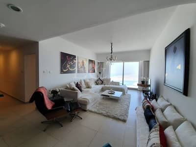 3 Bedroom Flat for Rent in Al Reem Island, Abu Dhabi - Furnished lovely apartment with sea view in Gate!