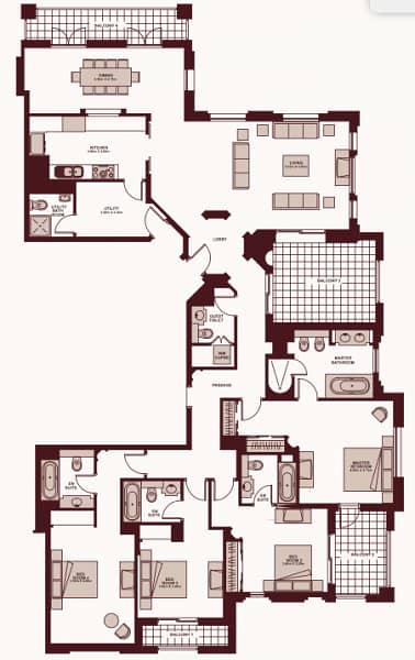 12 OT Specialist | 4 Bedroom | Penthouse