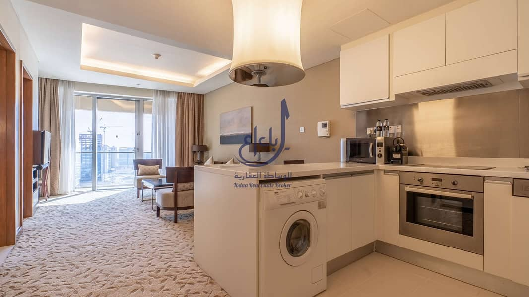 2 Elegant spacious furnished One bed
