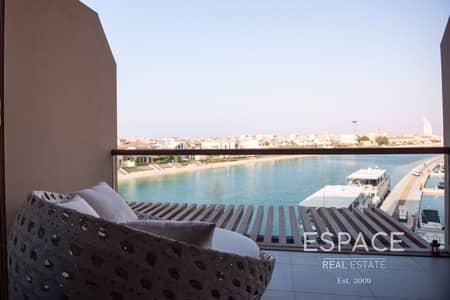 استوديو  للبيع في نخلة جميرا، دبي - Sea and Marina Views | Good Investment Property