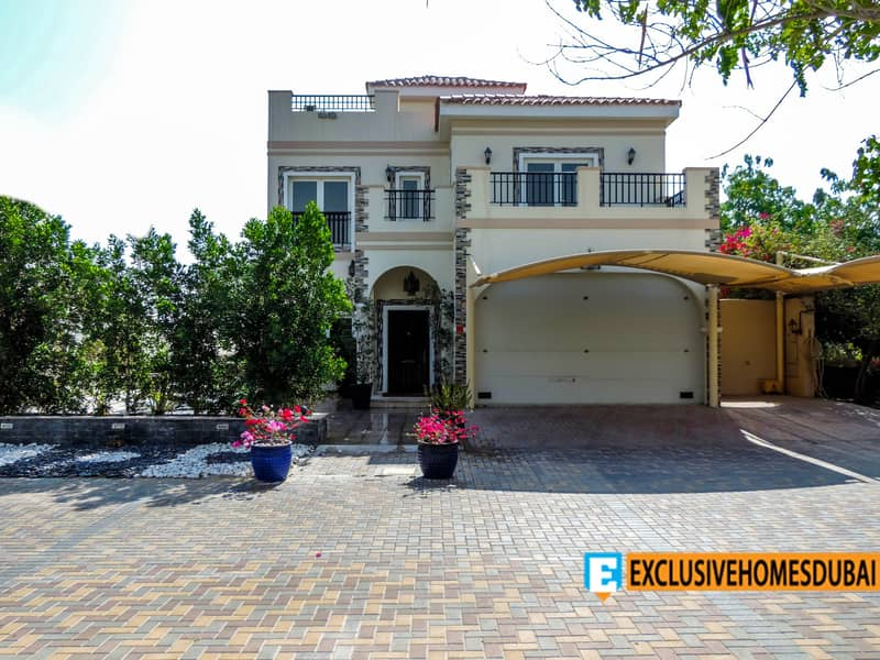 Highly Upgraded | 5bed + Maid | Private Pool