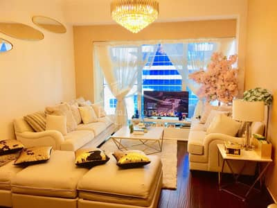 THE BEST | 1BR | Golden-upgraded in Damac Heights