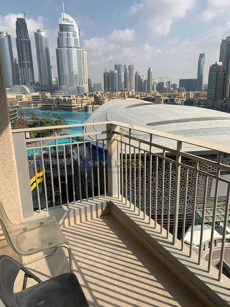 Burj View | Furnished | 1 BEDROOM Apartment For Rent