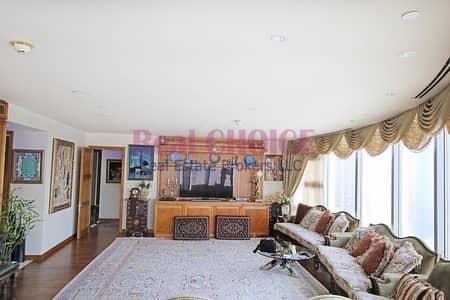 فلیٹ 3 غرف نوم للبيع في وسط مدينة دبي، دبي - High Floor 3BR + Maid Apartment|Panoramic Views